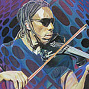 Boyd Tinsley Pop-op Series Art Print by Joshua Morton