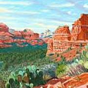 Boynton Canyon Art Print