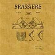 Bra Patent 19 Art Print