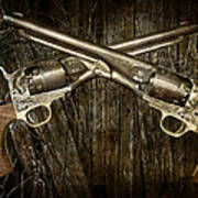 Brace Of Colt Navy Revolvers Art Print
