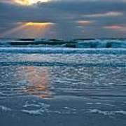 Bradenton Beach Sunset Art Print