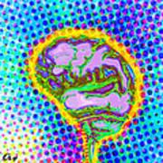Brain Pop Art Print