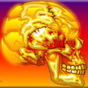 Brain Storm Art Print