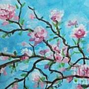 Branches In Bloom Art Print