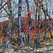 Branching Out Print by Deborah Glasgow