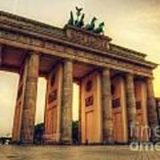 Brandenburg Gate Berlin Germany Art Print
