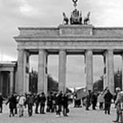 Brandenburger Tor - Berlin Art Print