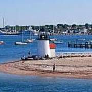 Brant Point  Art Print by Lorena Mahoney