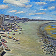 Brant Rock Beach Art Print