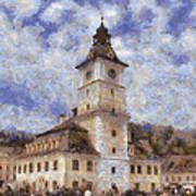 Brasov City Hall Art Print