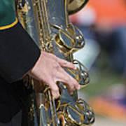 Brass Musical Instrument 01 Art Print