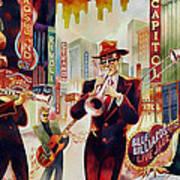 Brass On Broadway Art Print