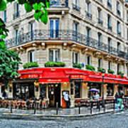 Brasserie De L'isle St. Louis Paris Art Print
