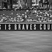 Braves Country Art Print