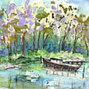 Bray Sur Seine 01 Art Print