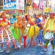 Brazil Day Colors Art Print