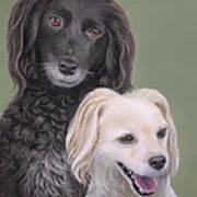 Brea And Randy Art Print