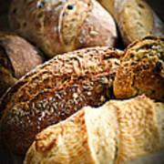 Bread Loaves Art Print