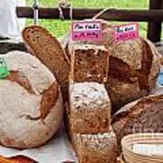 Bread On Local Market Art Print