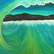 Breaking Wave Art Print