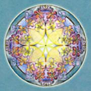 Breath Of Life Mandala Art Print