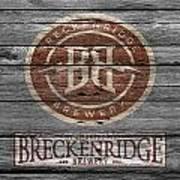 Breckenridge Brewery Art Print