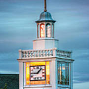 Brecksville Clock Tower Art Print by Jenny Ellen Photography