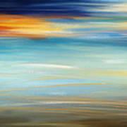 Breeze-seascapes Abstract Art Art Print