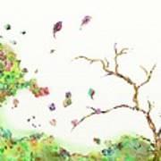 Breezy Canopy Art Print