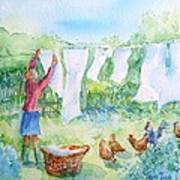Breezy Day  -great Drying Out Art Print