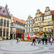 Bremen Main Square Art Print