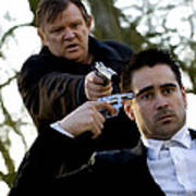 Brendan Gleeson and Colin Farrell @ In Bruges Art Print