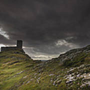 Brentor Church Dartmoor Devon Uk Art Print