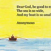Breton Fisherman's Prayer Art Print