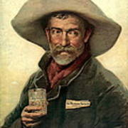 Brewery Ad 1889 Art Print by Padre Art