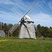 Brewster Windmill Art Print