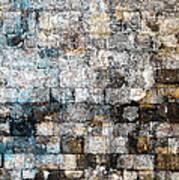 Brick Mosaic Print by Stephanie Grant