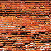Brick Scarp Walls And Casement Gallery Art Print