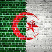 Brick Wall Algeria Art Print