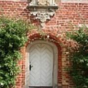 Brickcastle And White Door Art Print