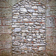 Bricked Up Doorway Art Print