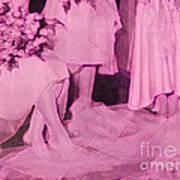Bridal Pink By Jrr Art Print