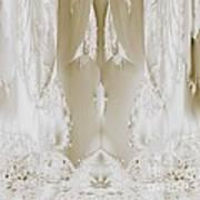 Bridal Satin Art Print