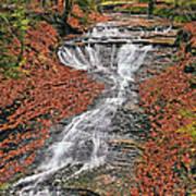 Bridal Veil Waterfall Art Print