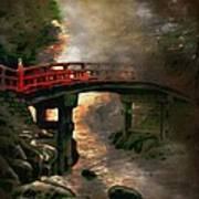Bridge Art Print by Andrzej Szczerski