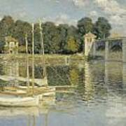 Bridge At Argenteuil Art Print