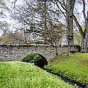 Bridge At Huntly Castle - 1 Art Print