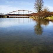 Bridge At Upper Lisle Art Print