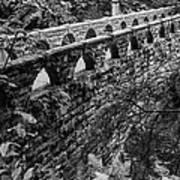 Bridge At Whatcom Falls Park  Art Print