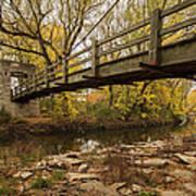 Bridge Between Seasons Art Print